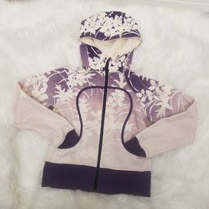 Lululemon Limited Edition Purple Floral Scuba 8